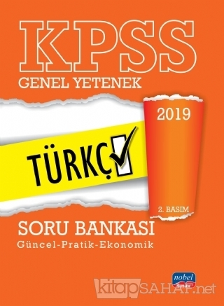 2019 KPSS Soru Bankası Genel Yetenek Türkçe - KOLLEKTİF   Yeni ve İkin