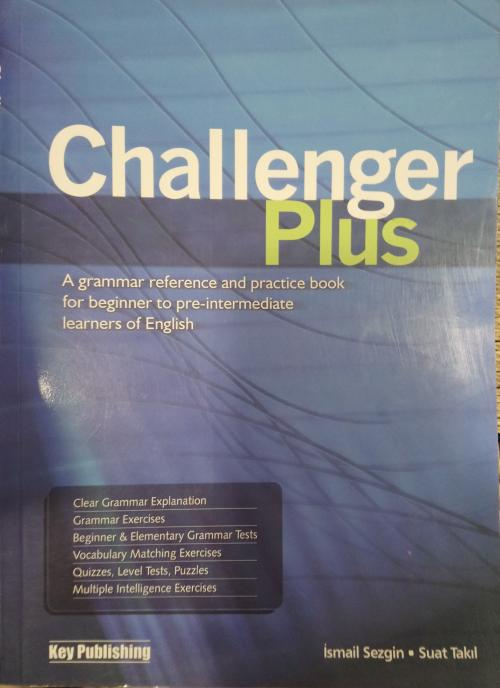 Challenger Plus - İsmail Sezgin | Yeni ve İkinci El Ucuz Kitabın Adres