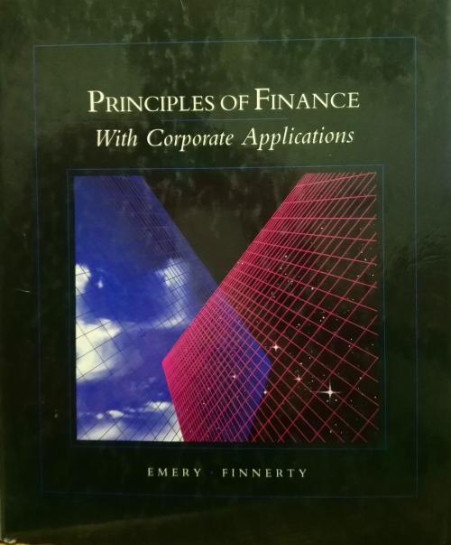 Principles of Managerial Finance - douglas r. emery | Yeni ve İkinci E