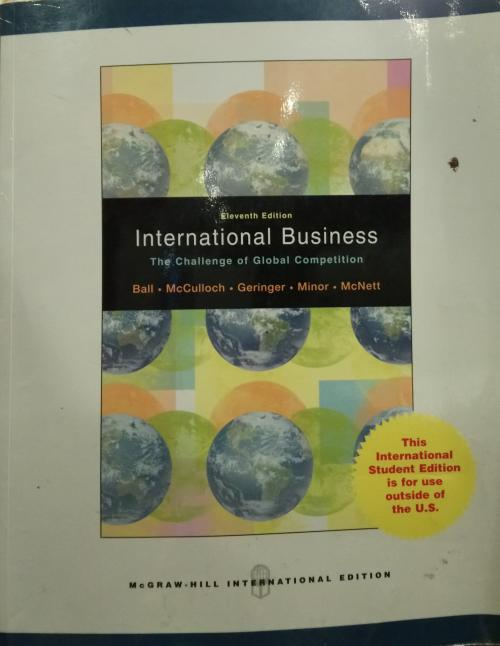 International Business - donald a. ball | Yeni ve İkinci El Ucuz Kitab