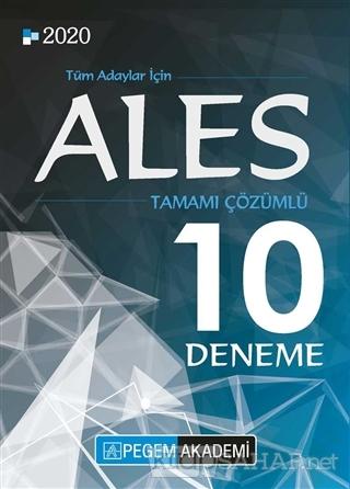 2020 ALES Tamamı Çözümlü 10 Deneme - Kolektif | Yeni ve İkinci El Ucuz