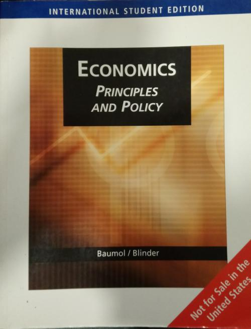 Economics: Principles and Policy (International Student Edition) - WİL