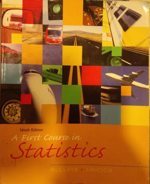 A First Course in Statistics - Terry Sincich   Yeni ve İkinci El Ucuz