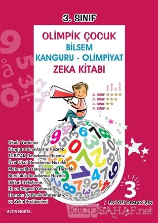 3. Sınıf Olimpik Çocuk Bilsem - Kanguru - Olimpiyat Zeka Kitabı Tamamı