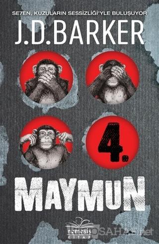 4. Maymun (Ciltli) - J. D. Barker- | Yeni ve İkinci El Ucuz Kitabın Ad