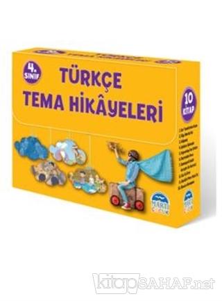 4. Sınıf Türkçe Tema Hikayeleri (10 Kitap Takım) - Kolektif | Yeni ve
