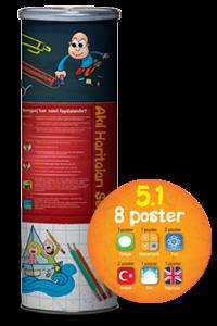 5.1 Akıl Haritaları Seti - Tonguç Komisyon   Yeni ve İkinci El Ucuz Ki
