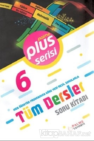6.Sınıf Plus Serisi Tüm Dersler Soru Kitabı - Kolektif | Yeni ve İkinc
