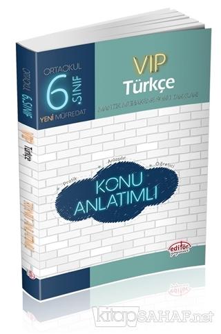 6. Sınıf VIP Türkçe Konu Anlatımlı - Kolektif | Yeni ve İkinci El Ucuz