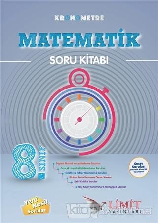 8. Sınıf Kronometre Matematik Soru Bankası - Kolektif | Yeni ve İkinci