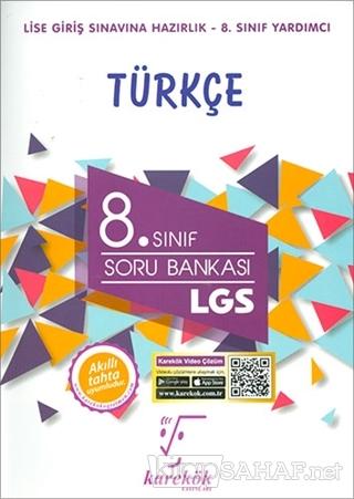 8. Sınıf LGS Türkçe Soru Bankası - Ebru Çaloğlu | Yeni ve İkinci El Uc