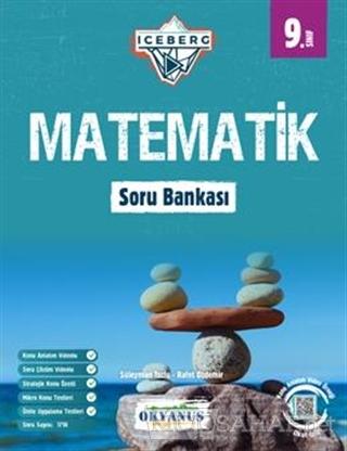 9. Sınıf Iceberg Matematik Soru Bankası - Süleyman Tozlu | Yeni ve İki