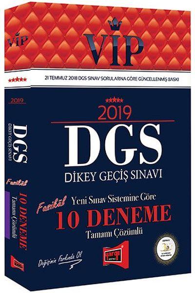 Yargı VIP DGS 10 Deneme Tamamı Çözümlü 2019 Yeni - | Yeni ve İkinci El