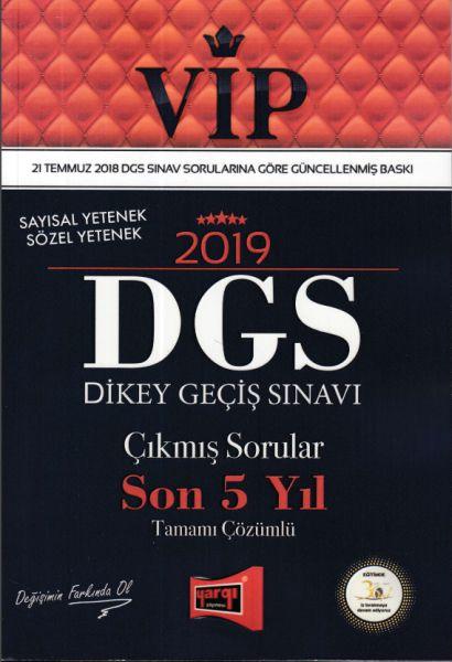 Yargı VIP DGS Çıkmış Sorular Son 5 Yıl Tamamı Çözümlü 2019 Yeni -   Ye