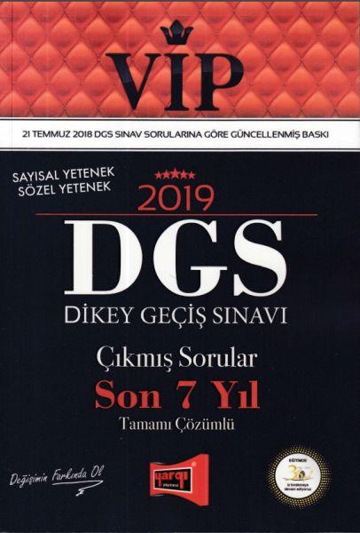 Yargı VİP DGS Çıkmış Sorular Son 7 Yıl Tamamı Çözümlü 2019 Yeni - | Ye