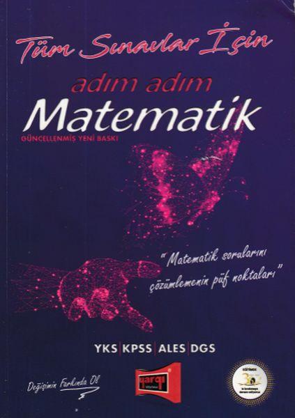 Yargı Tüm Sınavlar İçin Adım Adım Matematik Yeni - | Yeni ve İkinci El