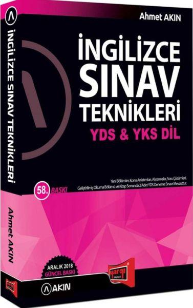 Yargı YDS YKS DİL İngilizce Sınav Teknikleri Akın Dil Yeni - | Yeni ve