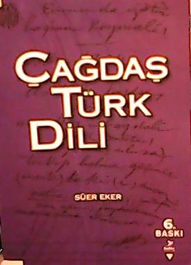 Çağdaş Türk Dili - Süer Eker | Yeni ve İkinci El Ucuz Kitabın Adresi
