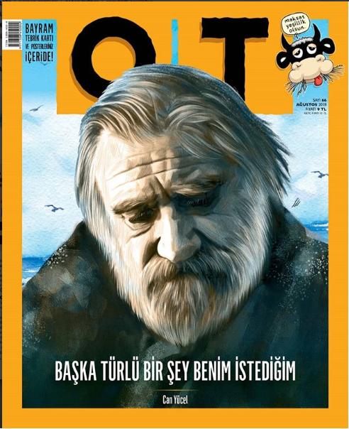 Ot Dergi Ağustos Sayısı 2018 Can Yücel 66. Sayı - Kolektif   Yeni ve İ