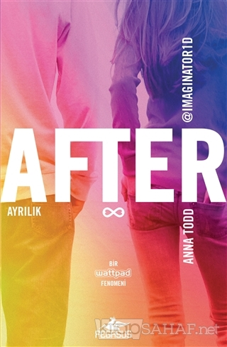 After: Ayrılık - Anna Todd- | Yeni ve İkinci El Ucuz Kitabın Adresi