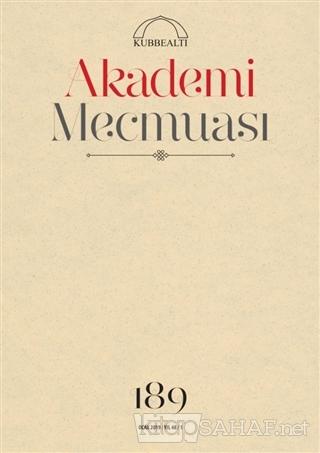 Akademi Mecmuası Sayı: 189 Ocak 2019 - KOLLEKTİF | Yeni ve İkinci El U