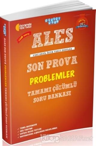 ALES Son Prova Problemler Tamamı Çözümlü Soru Bankası - Kolektif   Yen