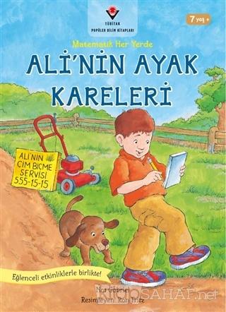 Ali'nin Ayak Kareleri - Matematik Her Yerde - Nat Gabriel | Yeni ve İk