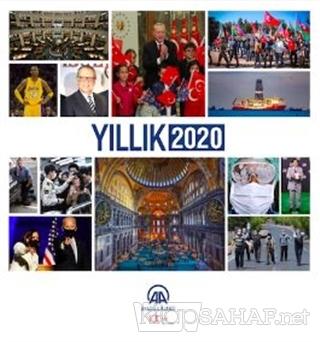 Anadolu Ajansı Yıllık 2020 - Kolektif   Yeni ve İkinci El Ucuz Kitabın