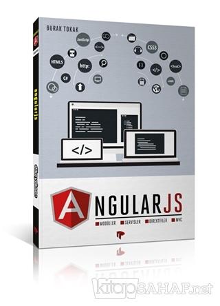 AngularJS - Burak Tokak- | Yeni ve İkinci El Ucuz Kitabın Adresi