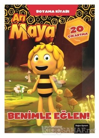 Arı Maya - Benimle Eğlen Boyama Kitabı - Kolektif   Yeni ve İkinci El