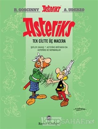 Asteriks (Tek Ciltte Üç Macera) (Ciltli) - Rene Goscinny | Yeni ve İki