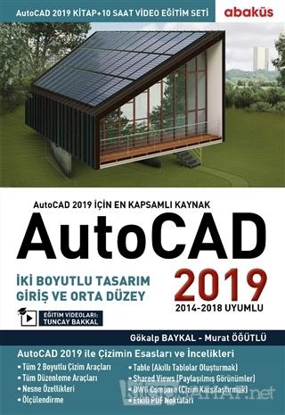 AutoCAD 2019 (Video Eğitim Seti) - Gökalp Baykal | Yeni ve İkinci El U