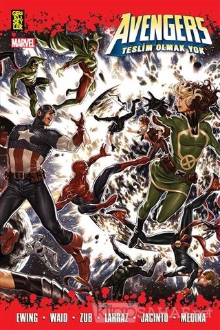 Avengers: Teslim Olmak Yok - Mark Waid | Yeni ve İkinci El Ucuz Kitabı