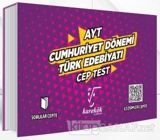 AYT Cep Test Cumhuriyet Dönemi Türk Edebiyatı - Kolektif | Yeni ve İki