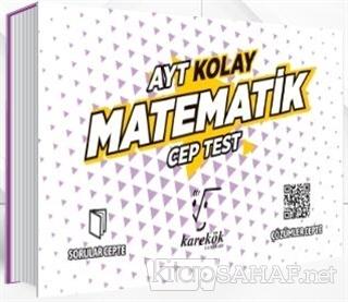 AYT Cep Test Matematik (Kolay) - Kolektif | Yeni ve İkinci El Ucuz Kit