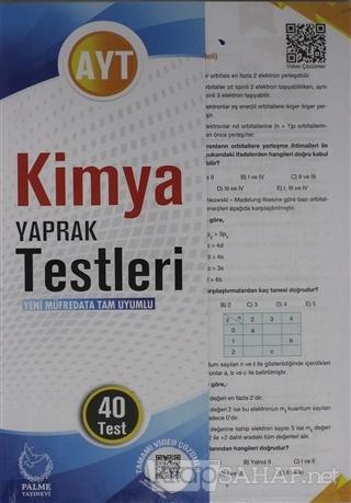 AYT Kimya Yaprak Testleri 40 Test - Kolektif | Yeni ve İkinci El Ucuz