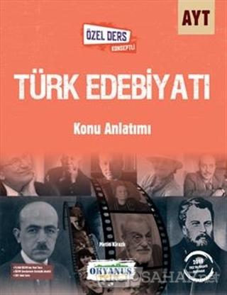 AYT Türk Edebiyatı Konu Anlatımlı - METİN KİRAZLI | Yeni ve İkinci El