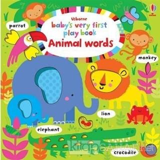Baby's Very First Play Book Animal Words - Fiona Watt   Yeni ve İkinci