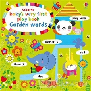 Baby's Very First Play Book Garden Words - Fiona Watt   Yeni ve İkinci