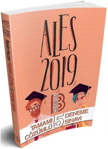 2019 ALES Tamamı Çözümlü 5 Deneme Sınavı - Kolektif   Yeni ve İkinci E