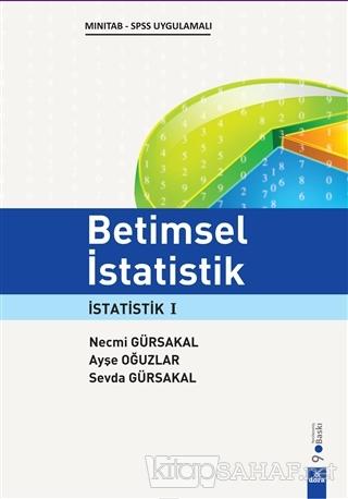 Betimsel İstatistik - Necmi Gürsakal- | Yeni ve İkinci El Ucuz Kitabın