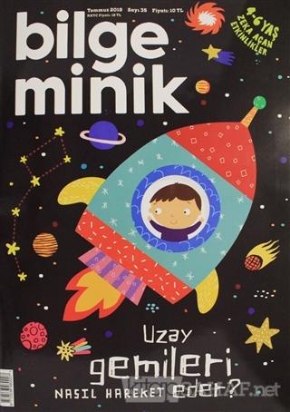 Bilge Minik Dergisi Sayı: 35 Temmuz 2019 - Kolektif   Yeni ve İkinci E