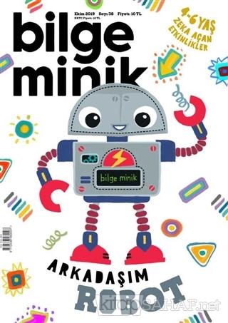 Bilge Minik Dergisi Sayı: 38 Ekim 2019 - Kolektif   Yeni ve İkinci El