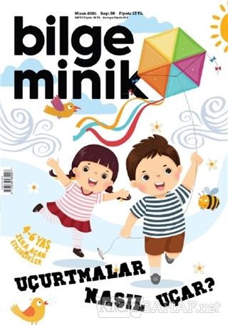 Bilge Minik Dergisi Sayı: 56 Nisan 2021 - Kolektif | Yeni ve İkinci El
