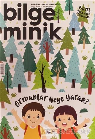 Bilge Minik Dergisi Sayı: 61 Eylül 2021 - Kolektif | Yeni ve İkinci El