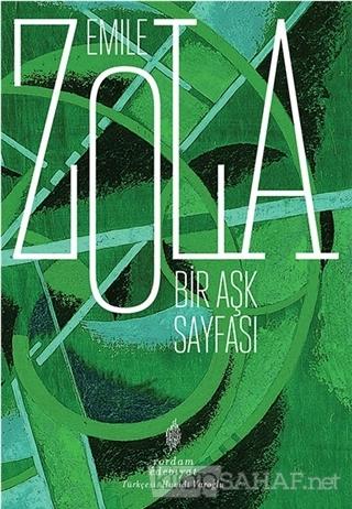 Bir Aşk Sayfası - Emile Zola   Yeni ve İkinci El Ucuz Kitabın Adresi