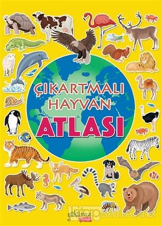 Çıkartmalı Hayvan Atlası - İlaria Barsotti | Yeni ve İkinci El Ucuz Ki