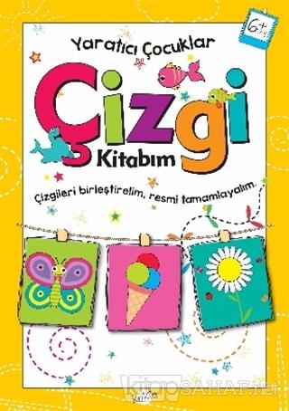 Çizgi Kitabım 6 Yaş - Yaratıcı Çocuklar - Kolektif   Yeni ve İkinci El