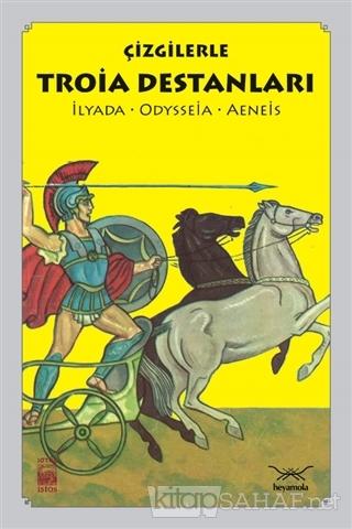 Çizgilerle Troia Destanları - Hasan Özgür Tuna- | Yeni ve İkinci El Uc