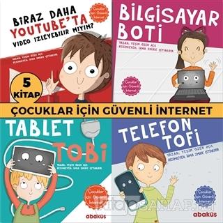 Çocuklar İçin Güvenli İnternet Seti (5 Kitap Takım) - Yeşim Özen Açıl